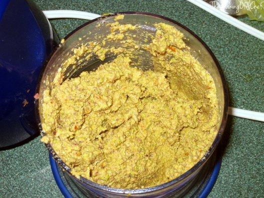 It looks weird, it smelled weird. It tasted overwhelmingly like garlic.